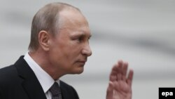 В.В. Путин 16 апреля 2015 г. в Гостином Дворе
