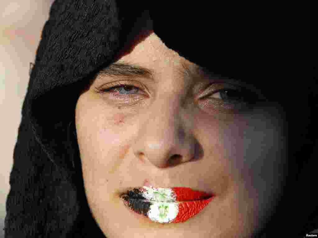 Jordan - Antivladini protesti i zahtjevi o odlasku sirijskog predsjednika Bashar al-Assada održani su i u Amanu, 15.05.2011. Foto: Reuters / Muhammad Hamed