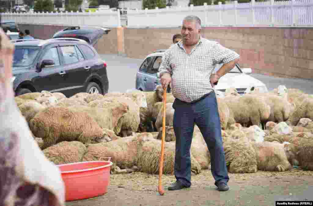 Курбан-байрам празднуют в Азербайджане
