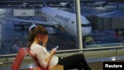 ბორისპოლის აეროპორტში, უკრაინა
