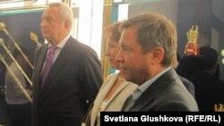 Виталий Игнатенко с Татьяной и Валентином Юмашевыми