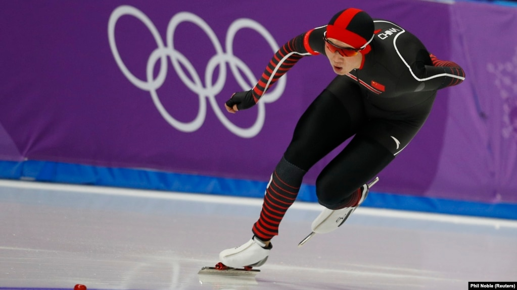 Аршынғазы Шәкен Пхенчхан олимпиадасына қатысып жатқан сәт. 13 ақпан 2018 жыл.