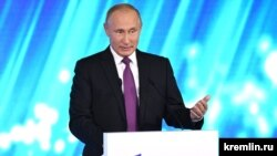 Vladimir Putin made his remarks at the Valdai Discussion Club in Sochi.
