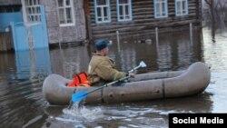 Наводнение в Ишиме, фото vishime.ru