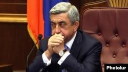 Третий президент Армении Серж Саргсян (архив)