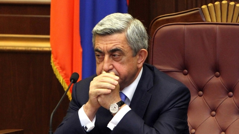 Жалоба на решение о привлечении Сержа Саргсяна в качестве обвиняемого отклонена