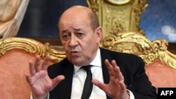 French Defense Minister Jean-Yves Le Drian (file photo)