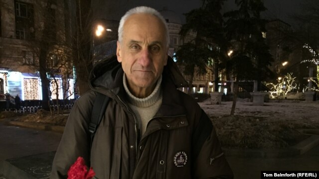 """I'm a simple, unpretentious man in the street. But this is my country. Someone has to speak up when the emperor has no clothes,"" says 75-year-old Vladimir Ionov, who now faces five years in prison."