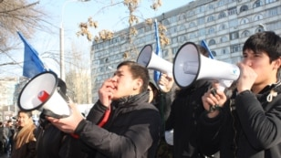 Kyrgyz Protests Over Opposition Trial
