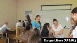 "BAC-ul la liceul ""Lucian Blaga"" din Tiraspol"