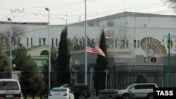 Посольство США в Ашхабаде (архивное фото)