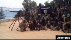 Предположительно граждане Таджикистана в Сирии.