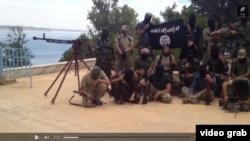 Syria -- Tajik militants claim to be in Syria
