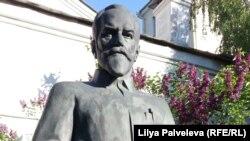 Памятник Святославу Рериху в Москве