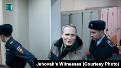 Danish national Dennis Christensen, a Jehovah's Witness believer, was sentenced to six years in a Russian prison in February.