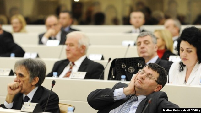Sa jednog od zasedanja Parlamentarne skupštine BiH, ilustrativna fotografija