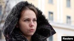 Вера Савченко, сестра украинской военнослужащей Надежды Савченко. Февраль 2015 года.