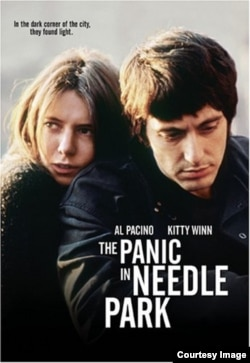 """Al Pacinonoya uğur gətirmiş ilk filmlərindən birir """"Nidl parkda panika filmi"""" (1971)."""