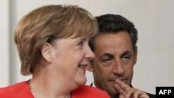 Франция Президенти Н. Саркози ва Германия Канцлери А. Меркел.