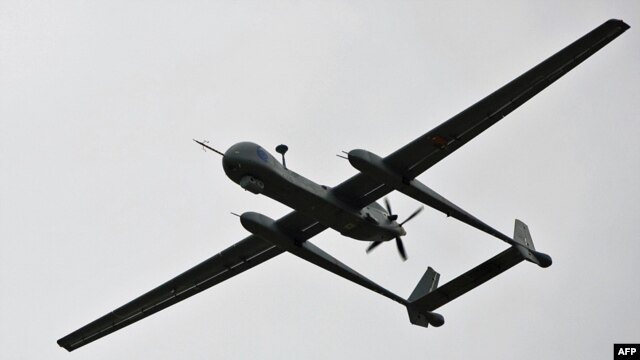 Tehran claims an Israeli 'spy drone' attempted to approach its Natanz uranium enrichment site in central Iran. (file photo)