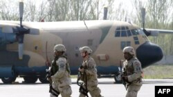 U.S. soldiers will have to leave the air base -- unless Bishkek orders a strategic delay