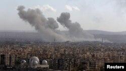 Сирия, обстрел Алеппо, 3 декабря 2016 года