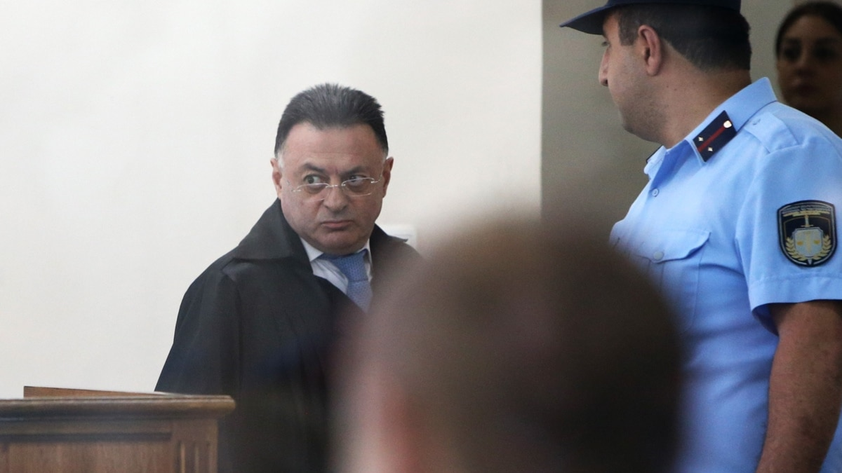Former Judge In Kocharian Case To Stand Trial