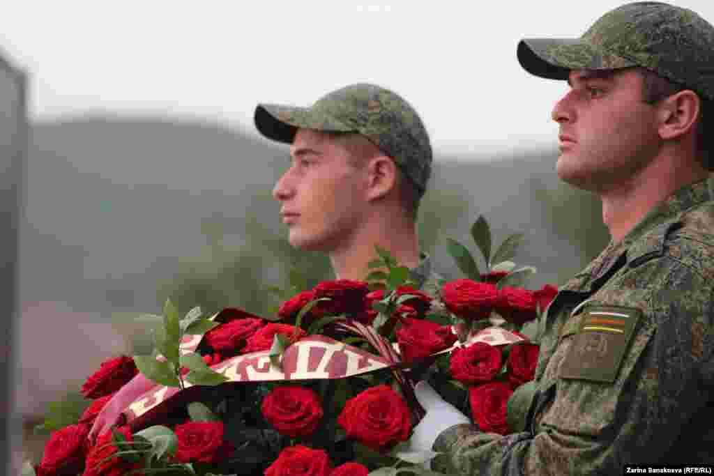 Несколько мероприятий, посвященных очередной годовщине событий августа 2008 года, прошли в Южной Осетии.