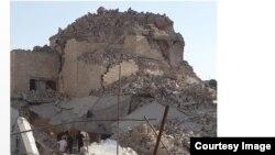 بقايا جامع النبي جرجيس