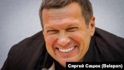 Уладзімір Салаўёў на прэсавай канфэрэнцыі ў Менску