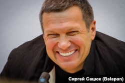 "TV host Vladimir Solovyov: ""These days it's difficult to verify practically any facts."""