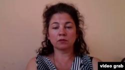 Қазақстандық құқыққорғаушы Елена Семенова.