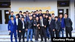 Таджикские студенты одного из российских вузов