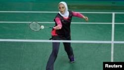 Иранская спортсменка на Азиатских играх в Инчхоне