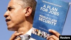 Prezident Barack Obama Floridada seçki kampaniyasında
