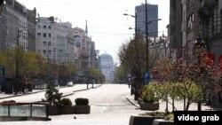 Drugi dan potpune zabrane kretanja u glavnom gradu Srbije