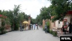 دروازۀ ورودی پوهنتون کابل