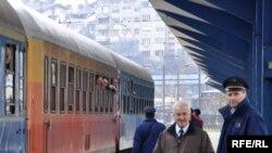 Željeznička stanica u Sarajevu, foto: Midhat Poturović