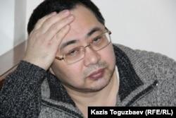 Украинада тұратын қазақстандық белсенді Ермек Нарымбаев.