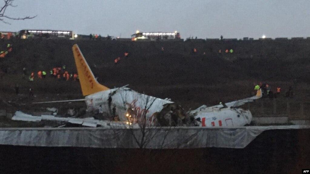 У літаку було 177 пасажирів і шість членів команди