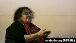 Алена Грэміна, дырэктарка «Тэатра.doc»