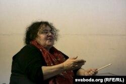 Алена Грэміна, дырэктарка «Тэатру.doc»