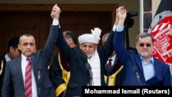 Pamje nga ceremonia e inaugurimit të Ashraf Ghanit si president i Afganistanit.