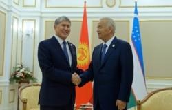 Тошкентда Каримов Атамбаев билан ёпиқ эшиклар ортида учрашди
