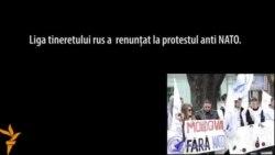 Un protest anti-Nato eșuat