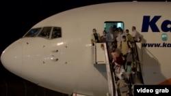 طیاره حامل مسافران افغانستان در مقدونیه