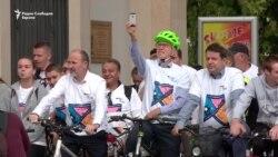 На Денот без автомобили скопјани на велосипед