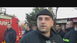 Protest vatrogasaca u Mostaru