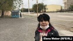 Водитель трамвая Ирина Крикунова. В трамвайном цехе работали ее мать и бабушка.