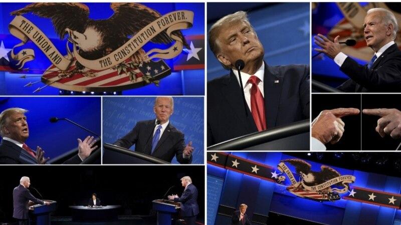Трамп ва Байден дар бораи
